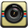 In the same vein as Hipstamatic, you shoot retro photos with this app