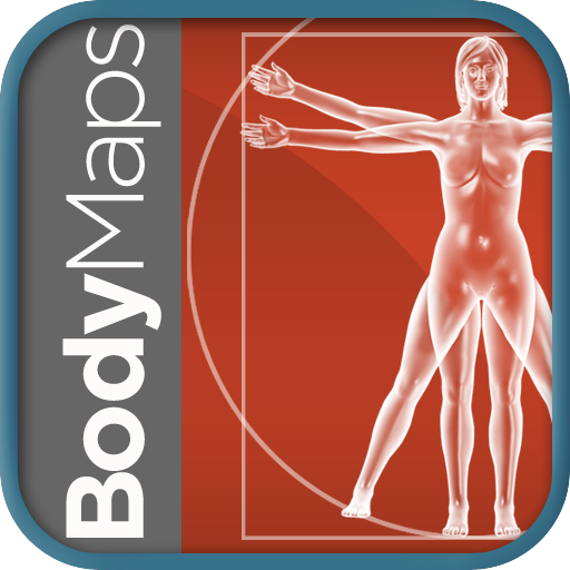 Healthline Body Maps – Female 3D Human Anatomy Reference