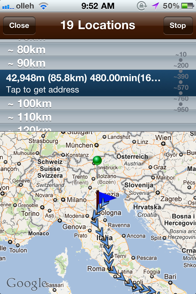PhotoTrek – The Ultimate Photos and Locations Recording Tool Screenshot