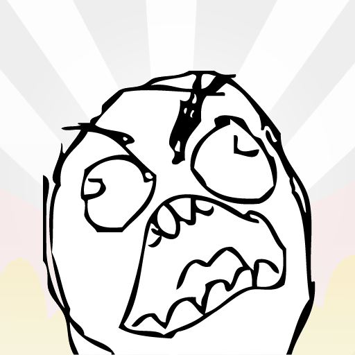 Angry Troll Face Angry...