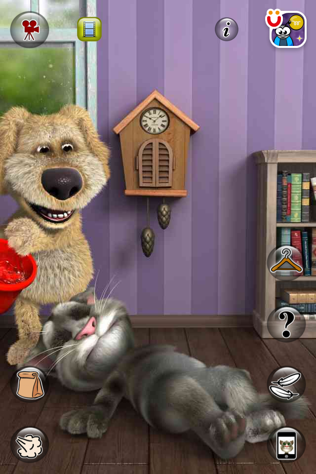 Talking Tom Cat 2 | iPhone Entertainment apps | by Out Fit 7