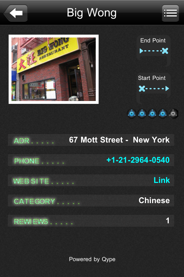 iWay GPS Navigation Screenshot