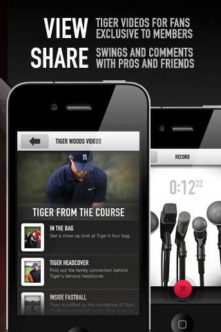 Tiger Woods: My Swing Screenshot
