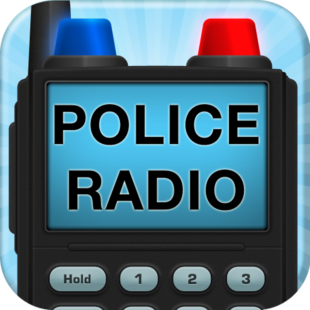 Police Radio+ : Listen to live police, fire, ambulance, air traffic control and weather feeds