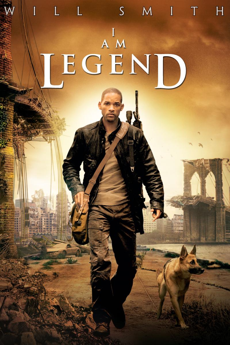 Friday Film Talk...I Am Legend Zombie Dog