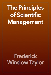 Taylor principles of scientific management
