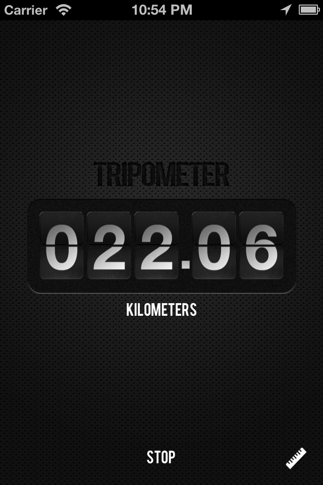 Tripometer Screenshot