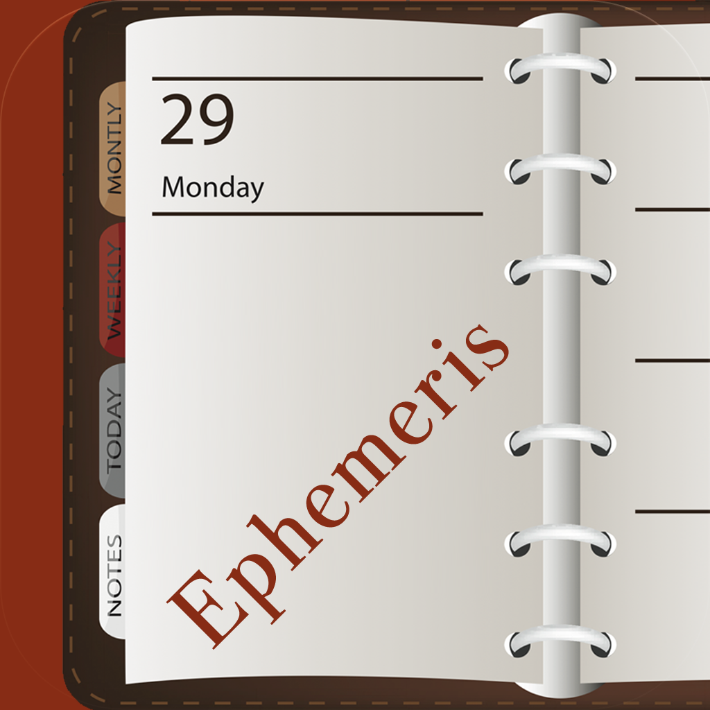 Ephemeris (On this day)