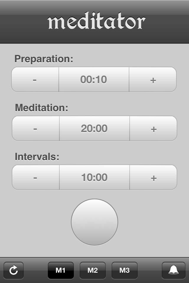 Meditator - Meditation Timer