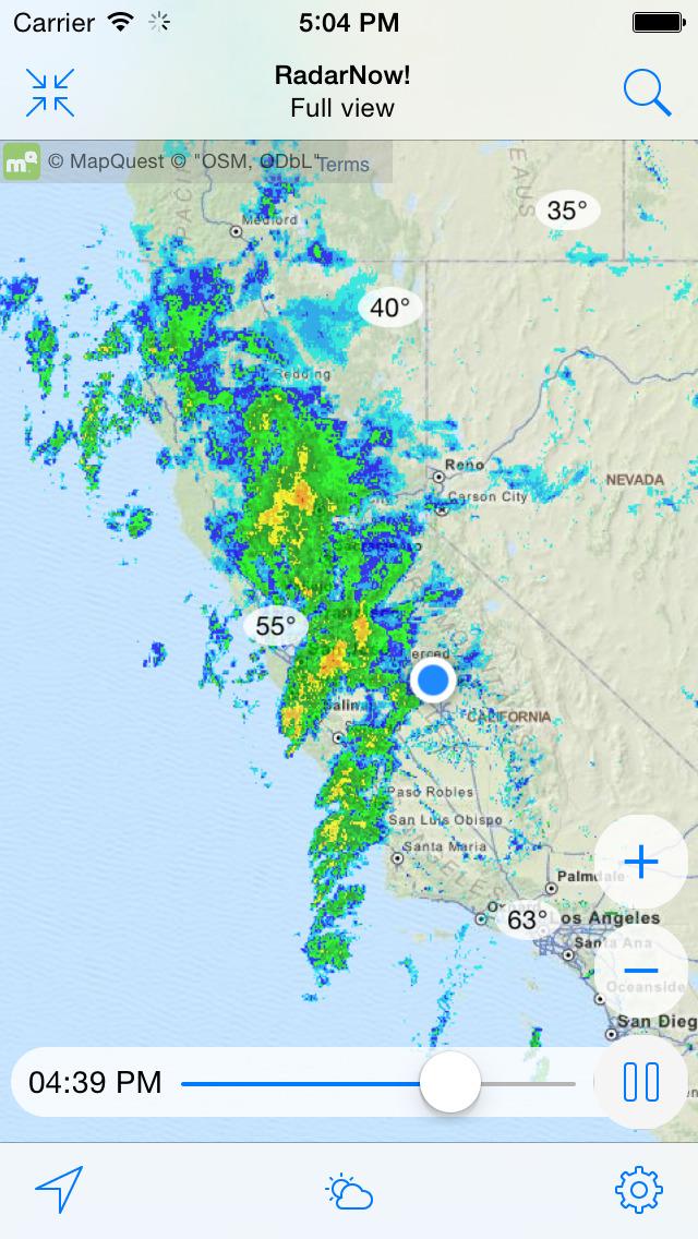 RadarNow! Weather Radar Screenshot