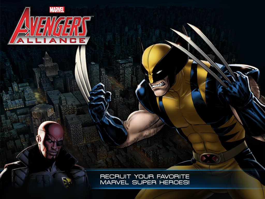 avengers alliance mobile app