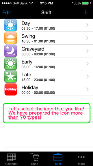 shift schedule calculator