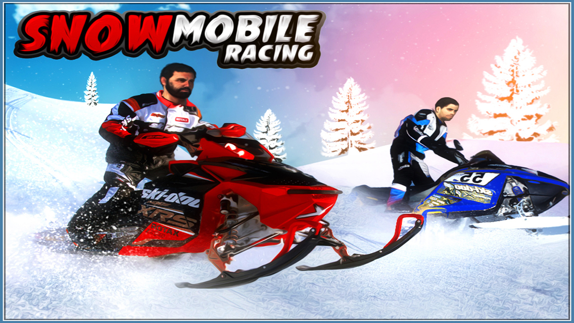 Snowmobile Racing Games 3d