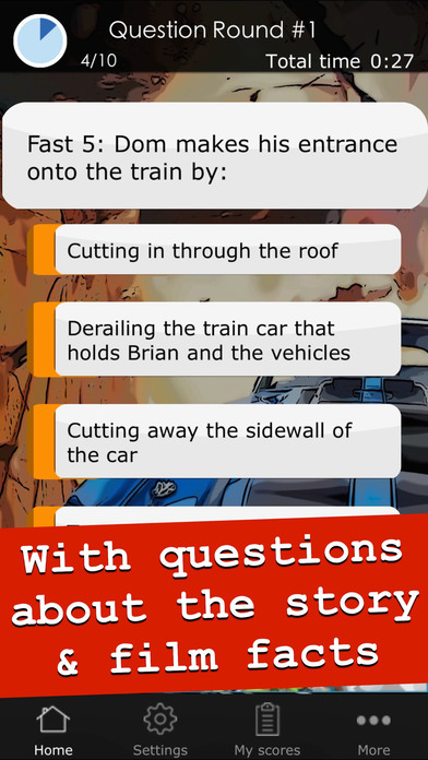 Quiz for Fast & Furious - Cool trivia game app about the