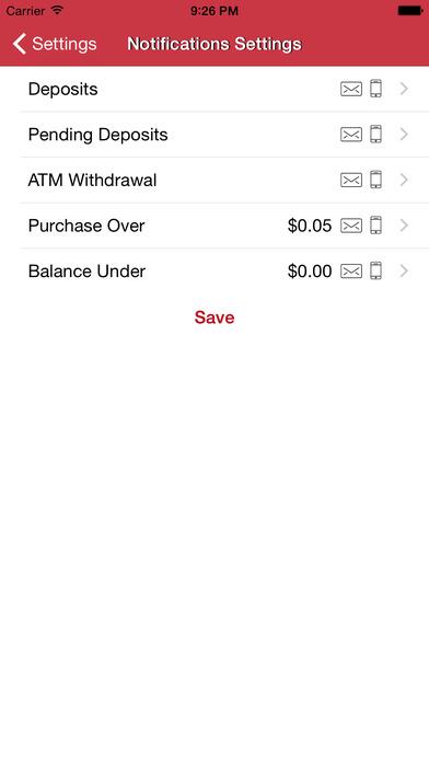 Money Network Mobile App Screenshot