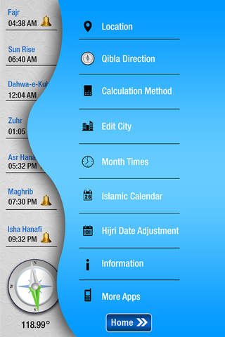 Prayer Times   app per iPhone - download per iOS da Dawat-e