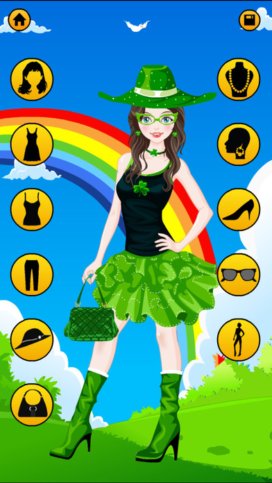 Holiday Dress Up Games - Christmas, Halloween, Easter, New Year and St. Patrick's Day Screenshot on iOS
