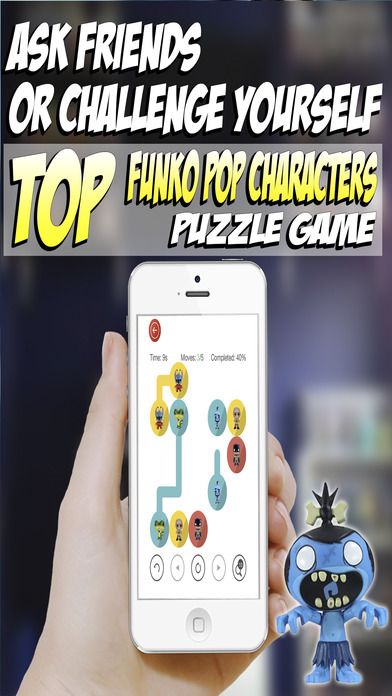 Match the Crazy Funko Pop Vinyl - Awesome Fun Puzzle Pair Up for Little Girls Screenshot on iOS