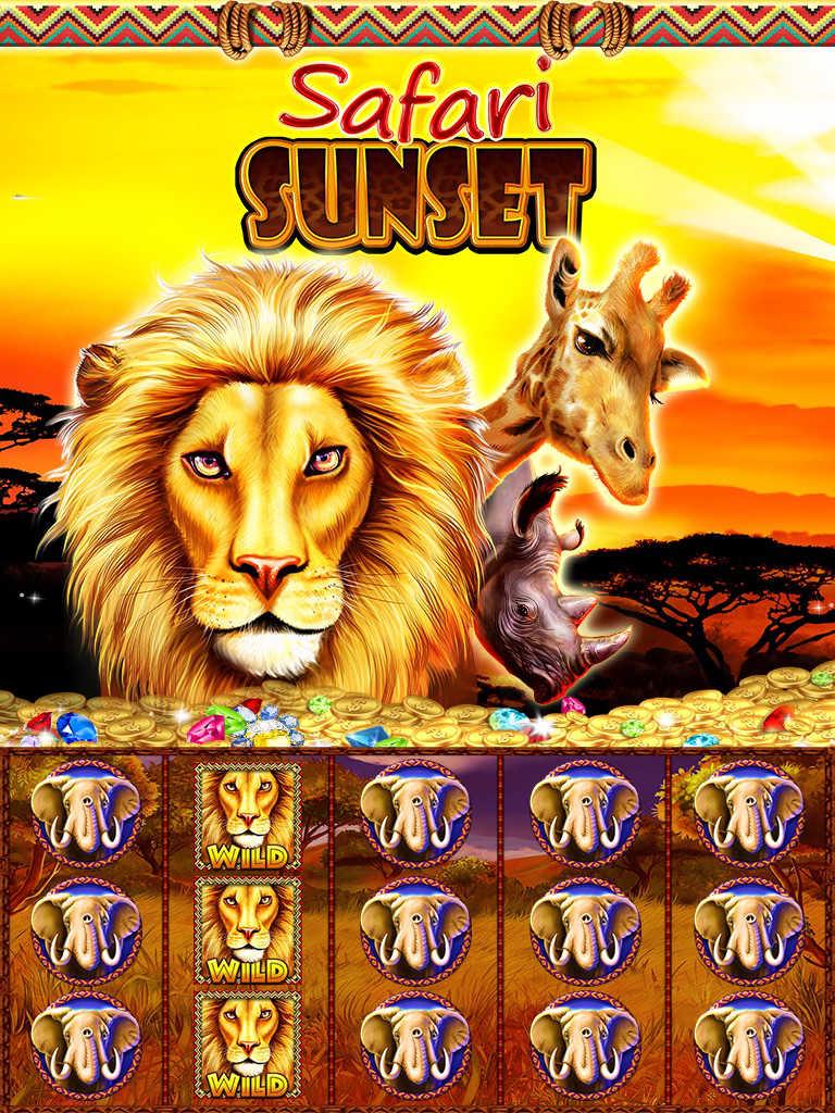 Heart Of Africa Slot Machine