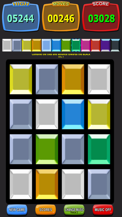 Colors 2048 - Free Screenshot on iOS