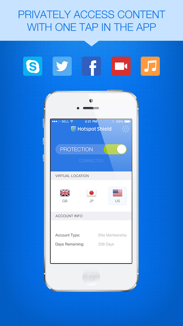 THE BEST VPN SERVICE FOR IPHONE
