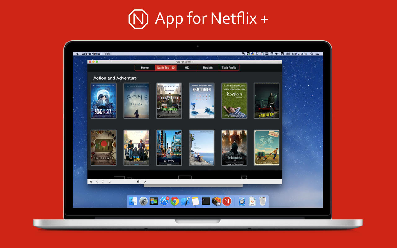 netflix app till macbook air