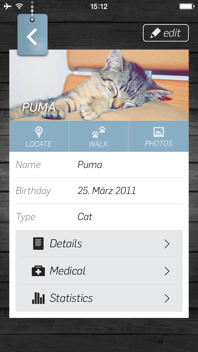 Pet Manager PRO - Organize your cat, dog and pet information - Track your pet!
