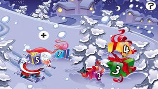 Baby & Kids Christ-mas Education-al Learn-ing Game: Sort-ing Santa & Snow-Man By Size Screenshot on iOS