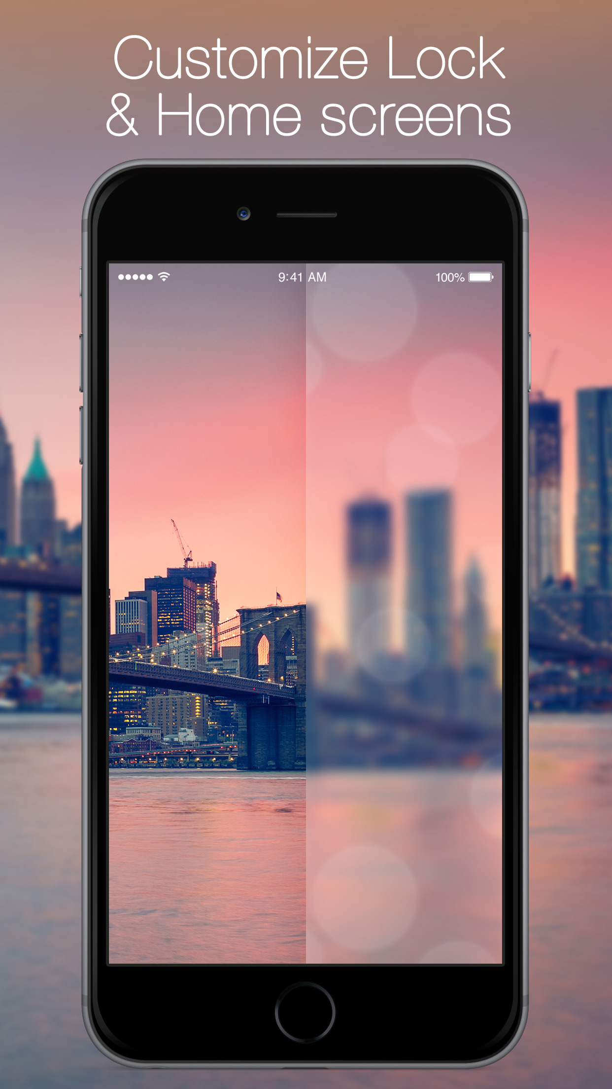 Blurred Wallpapers - Custom Backgrounds and Wallpaper Images screenshot-4
