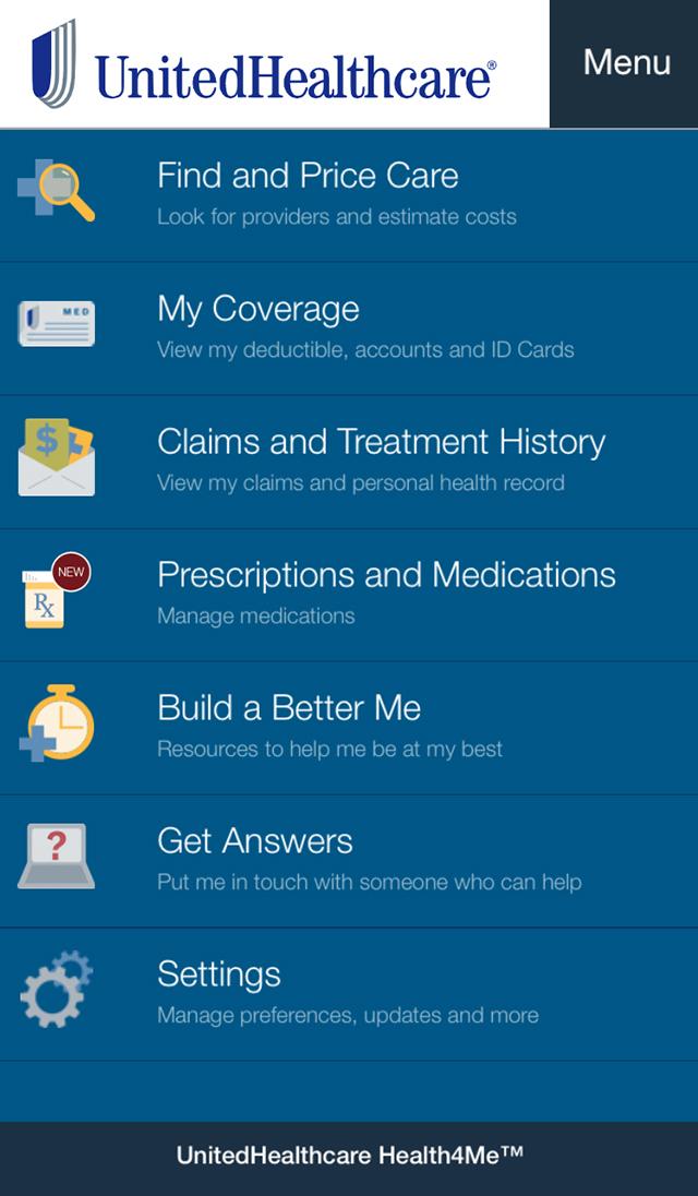 Health4Me Screenshot