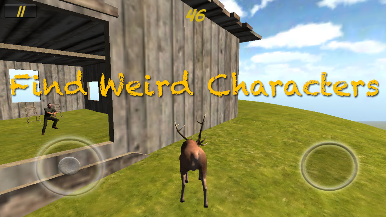 Animal Rampage - Stag finds Wierd Character doing Gangnam Style Dance
