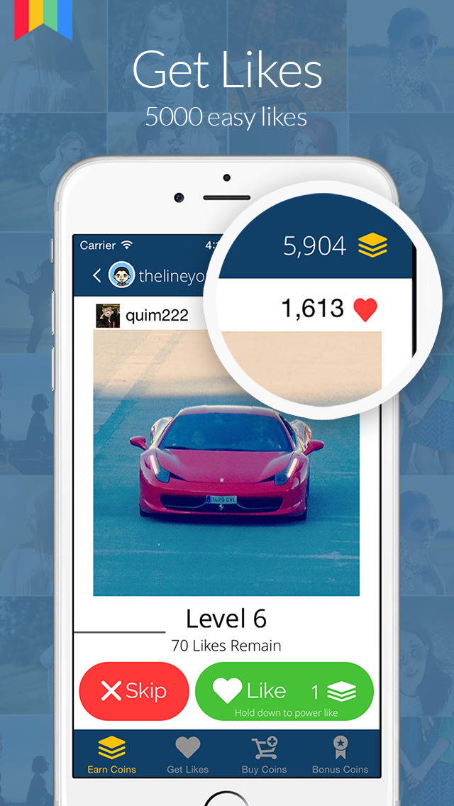 Use coins to get likes on instagram - How many satoshis are