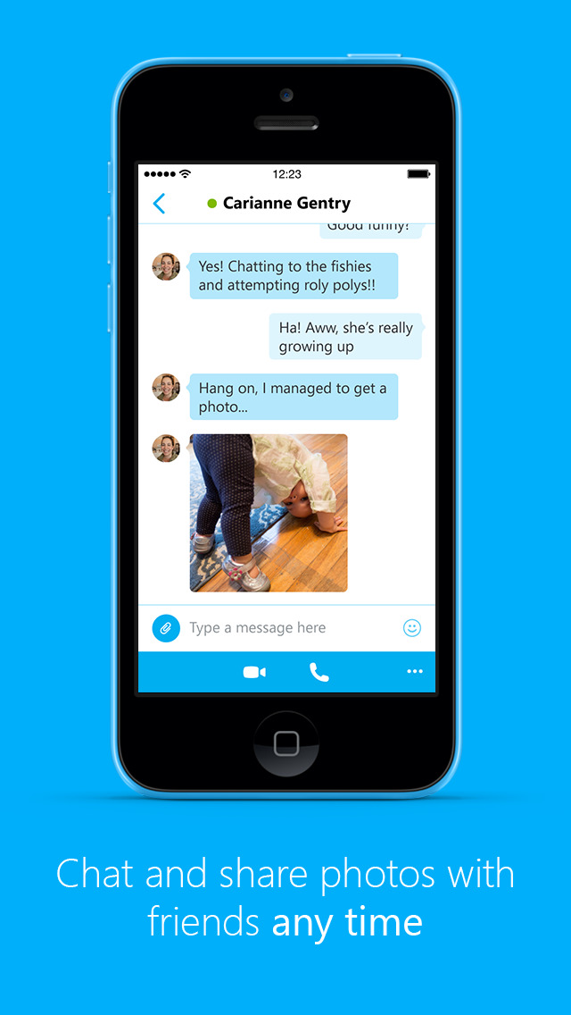 Skype for iPhone - IOS App Store