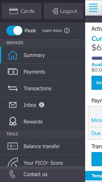 Barclaycard Screenshot