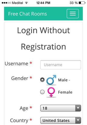 No registration dating app