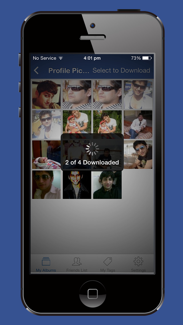 Photo Album Downloader for Facebook - Download & Save