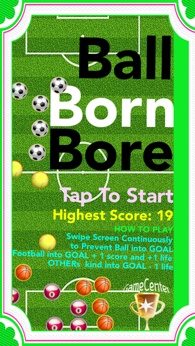 Ball Born Bore Screenshot on iOS