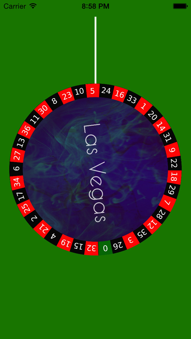 Online roulette wheel spinner