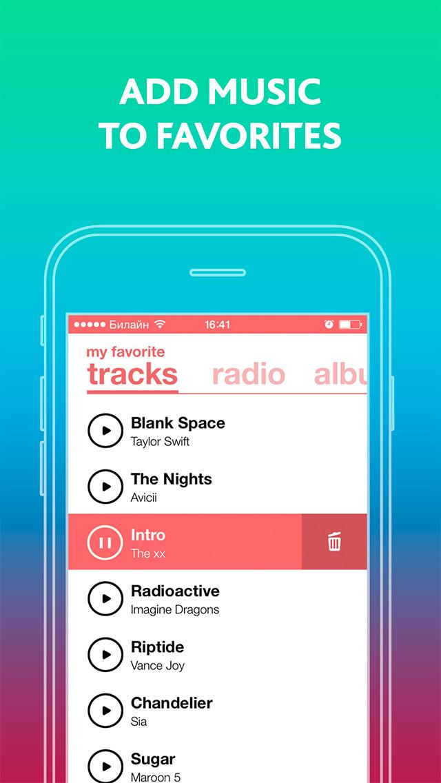 best app for listen songs iphone