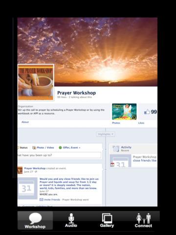 Prayer Results Screenshots