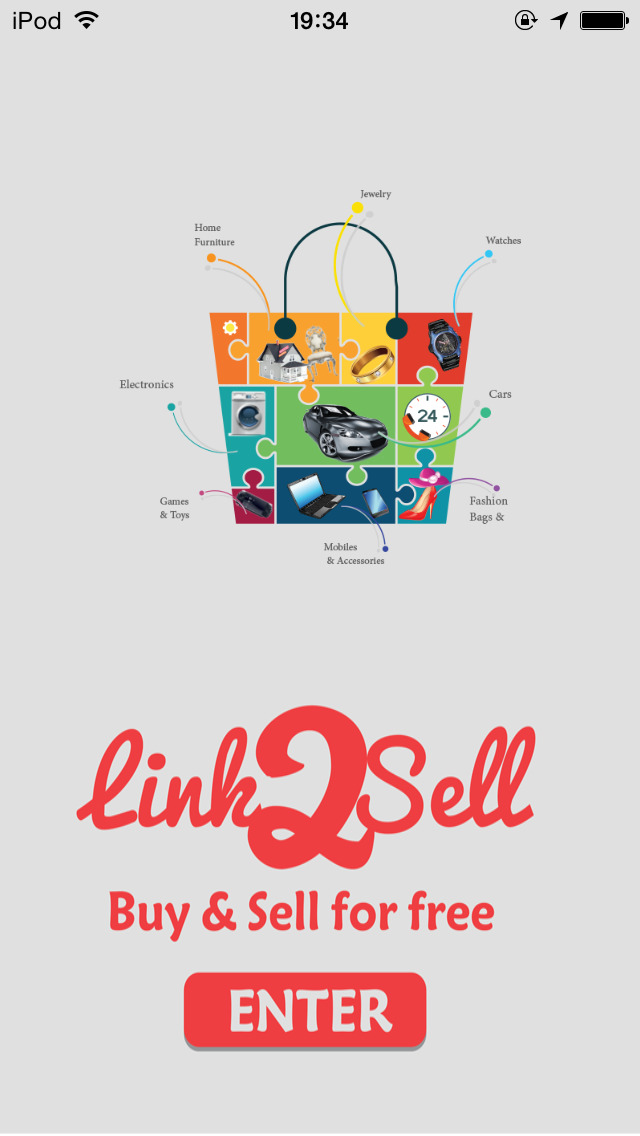 Link2sell: buy, sell & rent new and used products near you (antiques