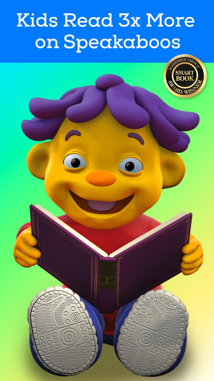 Speakaboos Reading App: Stories & Songs for Kids Screenshot