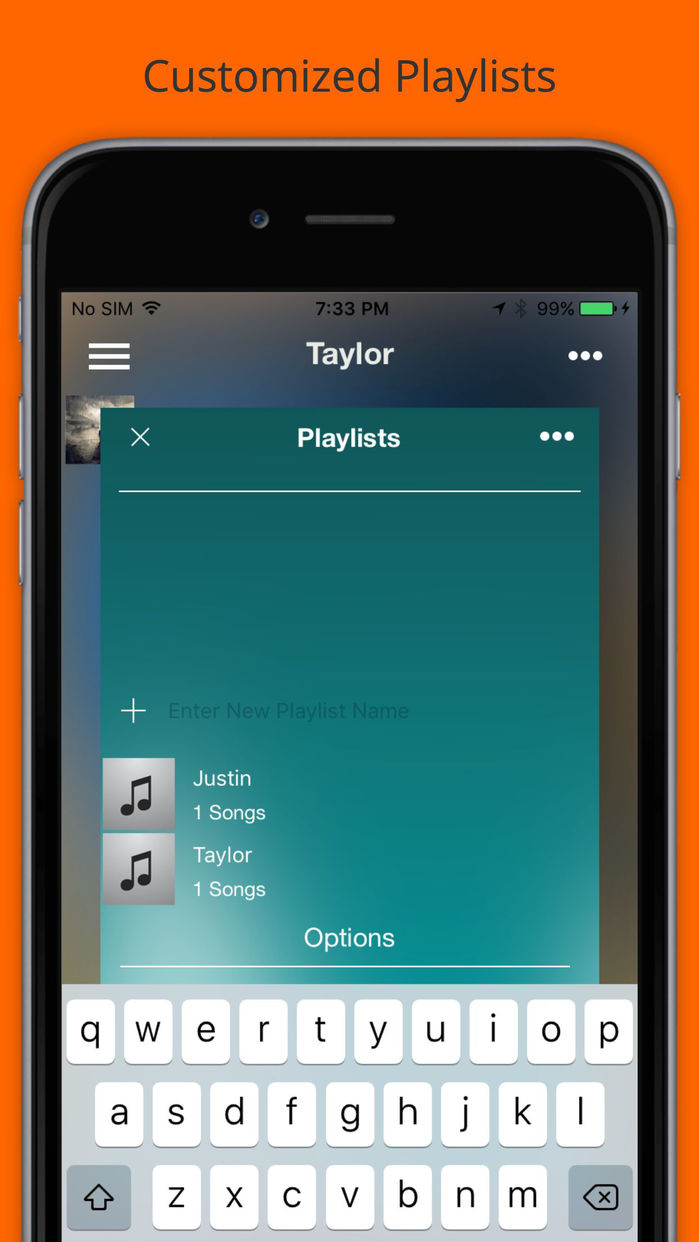 Music. Play. - Unlimited Mp3 Player & Streamer Screenshot