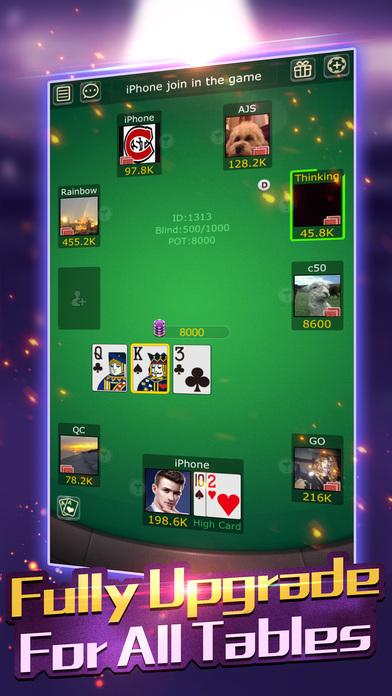 口袋德州撲克 --Texas Holdem Screenshot on iOS