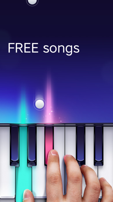 Free Piano app by Yokee Screenshot