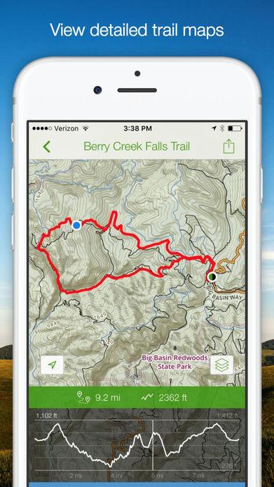 AllTrails - Hiking, Running & Biking Trails Screenshot