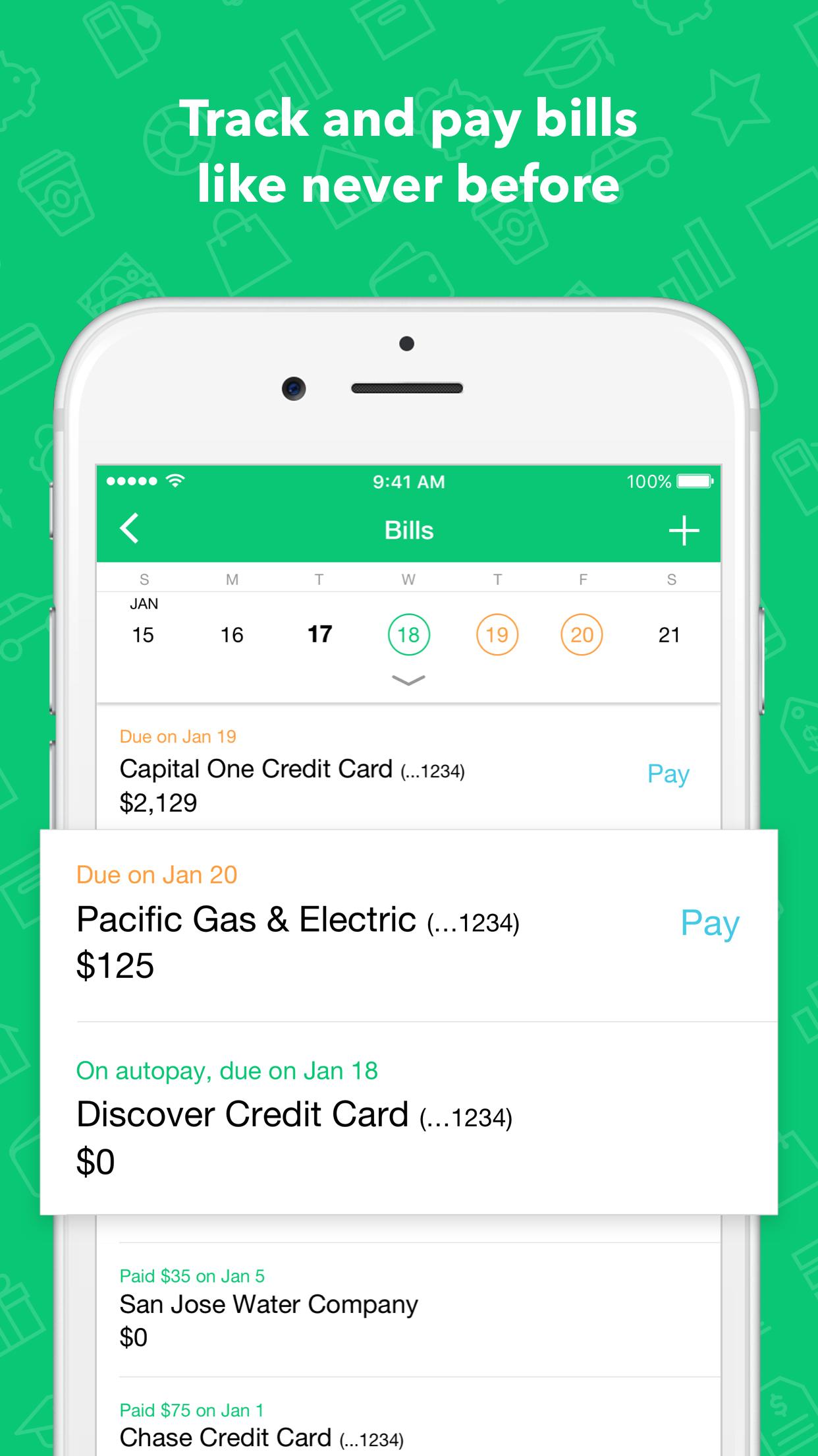 Mint: Personal Finance, Budget, Bills & Money Screenshot
