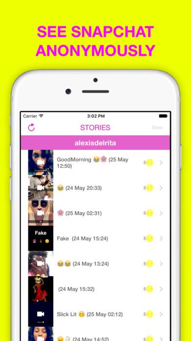 Stories and conversations for socials Screenshot