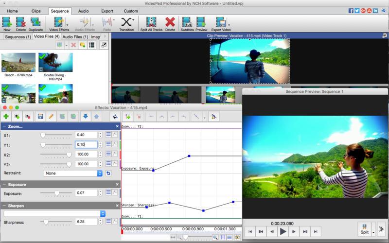 NCH VideoPad Video Editor Professional 5.01|Mac Torrent ...