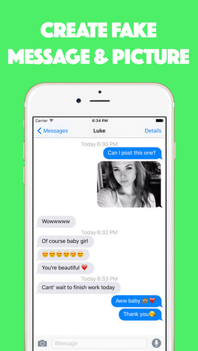 Fake Text Message - Send Fake message to PRANK